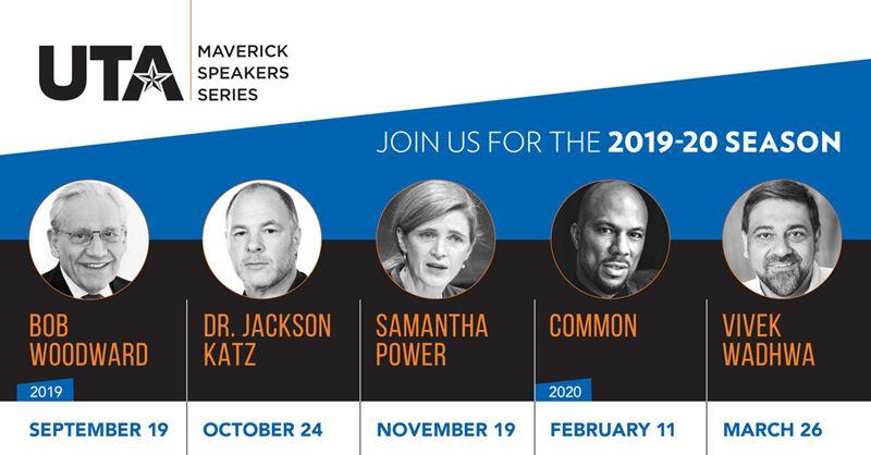 UTA Maverick Speakers Series 2019-20