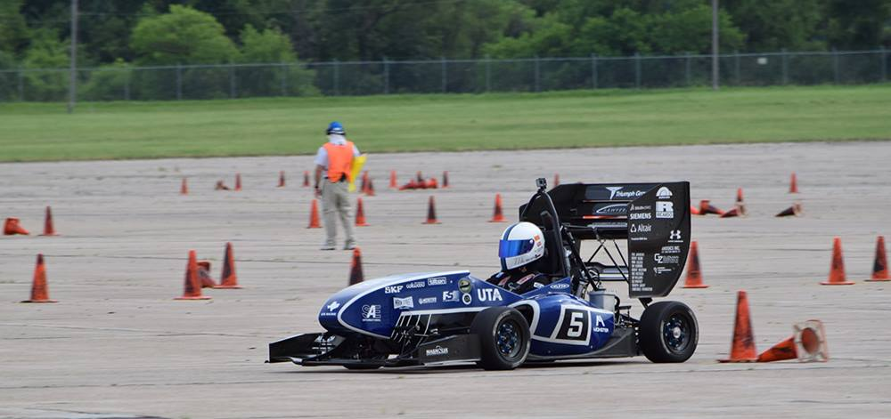 Student-built race cars to compete at UTA's 19th annual Texas Autocross Weekend