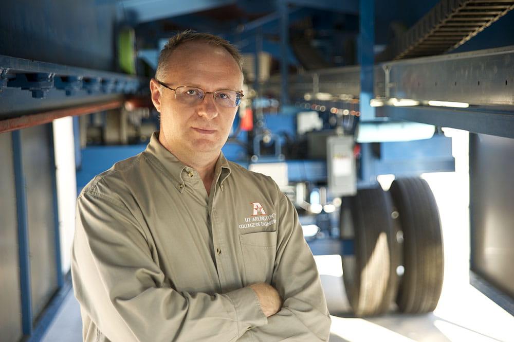 Stefan Romanoschi UTA civil engineering professor