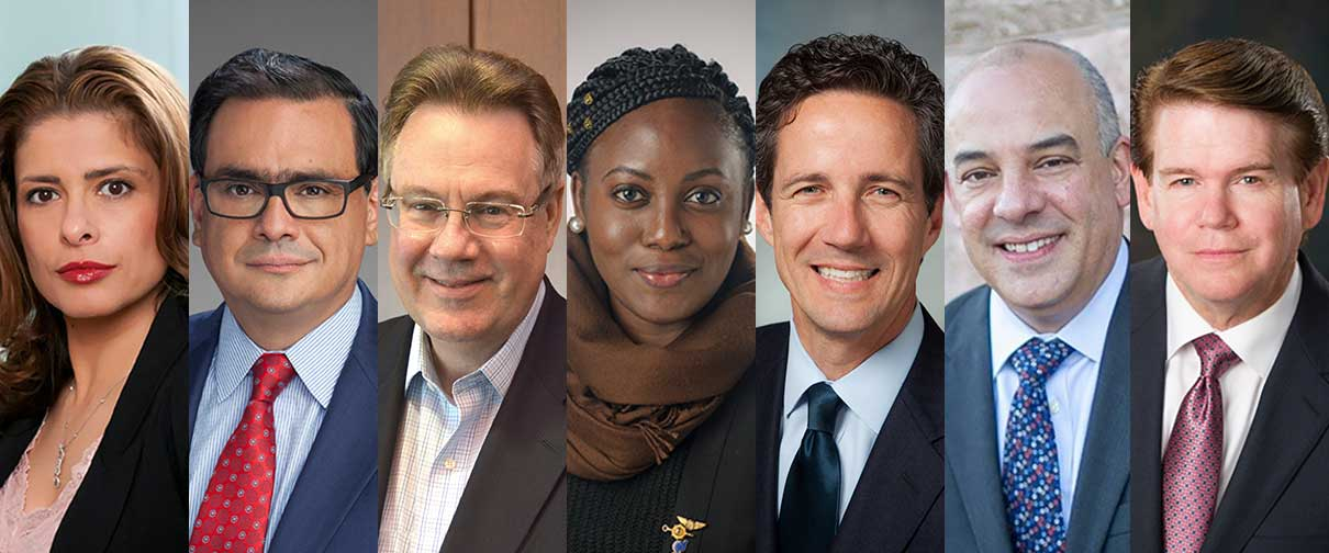 Distinguished Alumni honorees are Shahrzad Amirani, Jacob Monty, Michael Ray and Wendy Okolo, the latter of whom will receive the Distinguished Recent Graduate Award. Additionally, state Sen. Kelly Hancock, state Rep. Chris Turner and Arlington Mayor W. Jeff Williams will each receive the Distinguished Community Service Award.