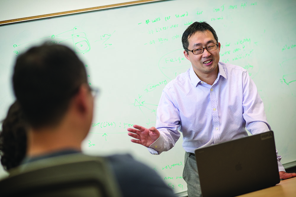 Chengkai Li, a professor of computer science and engineering at The University of Texas at Arlington