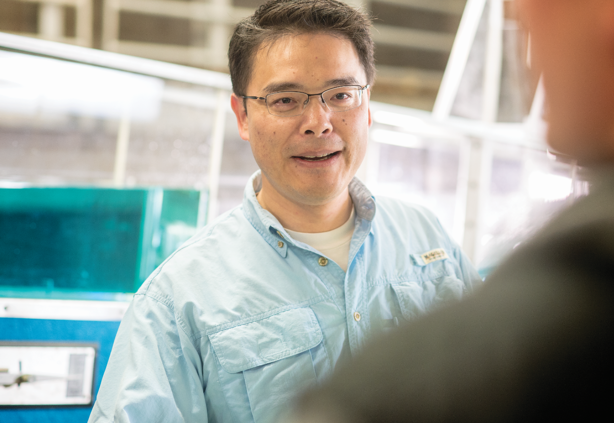 Nick Fang, an assistant professor in the Department of Civil Engineering at The University of Texas at Arlington