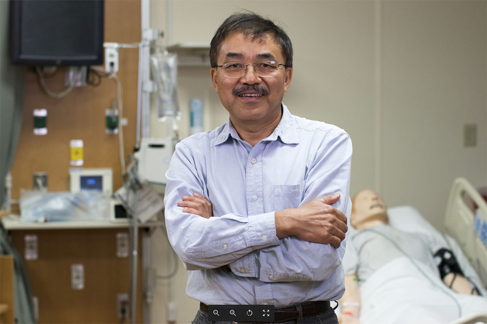 Yan Xiao, a professor of nursing and patient safety specialist in The University of Texas at Arlington's College of Nursing and Health Innovation