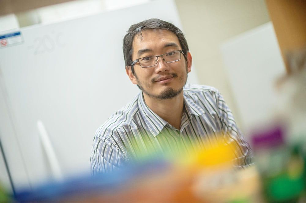 Sen Xu, assistant professor of biology at UTA