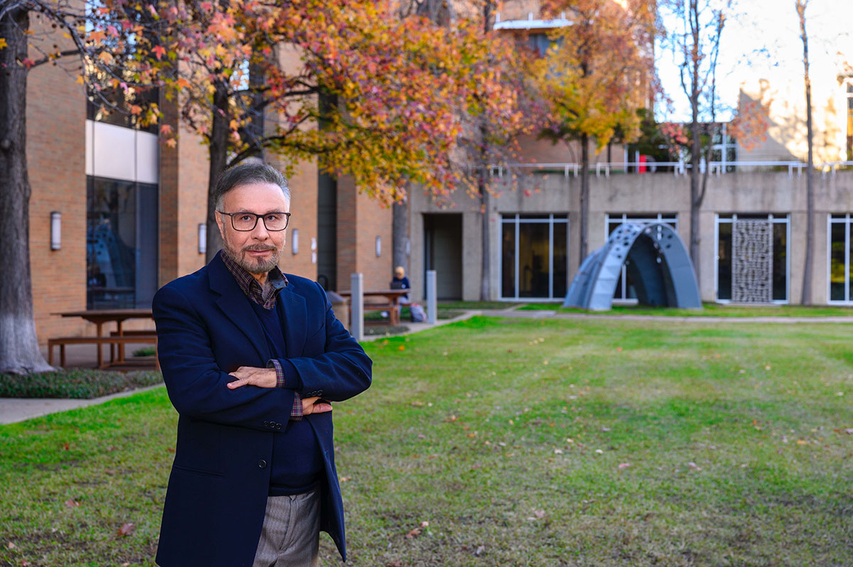 Ard Anjomani, UTA professor in the College of Architecture, Planning and Public Affairs