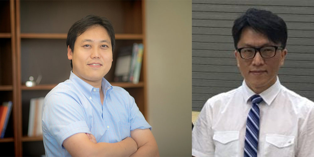 Suyun Ham, assistant professor of civil engineering, and Simon Chao, professor of civil engineering