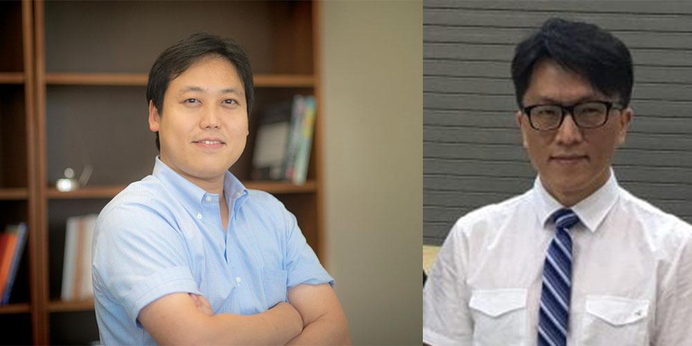 Suyun Ham, assistant professor of civil engineering, and Simon Chao, professor of civil engineering