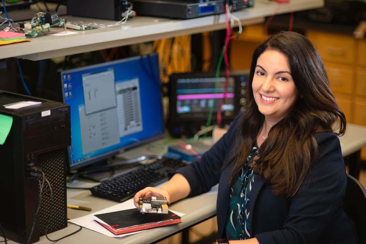 Haleh Hadavand, assistant professor of physics at The University of Texas at Arlington