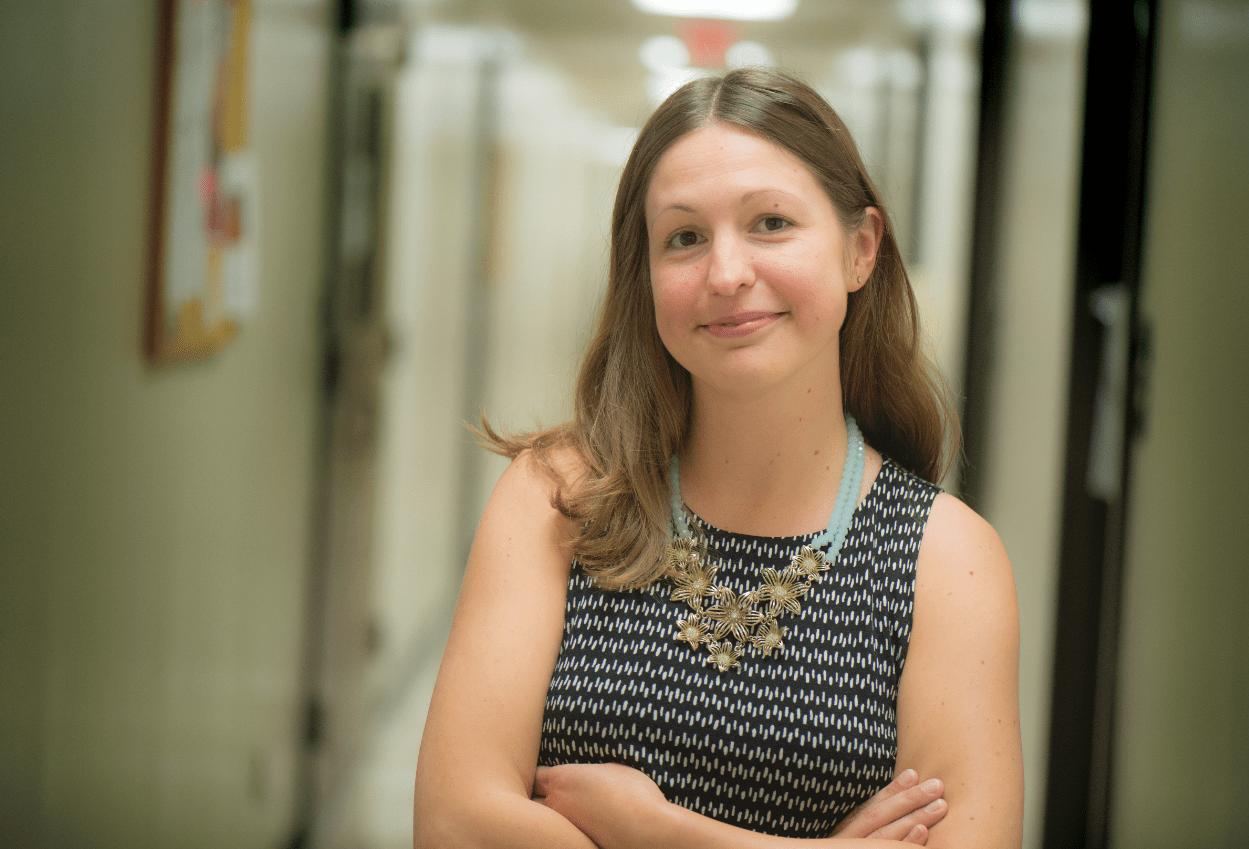 Ashley Lemke, assistant professor of anthropology