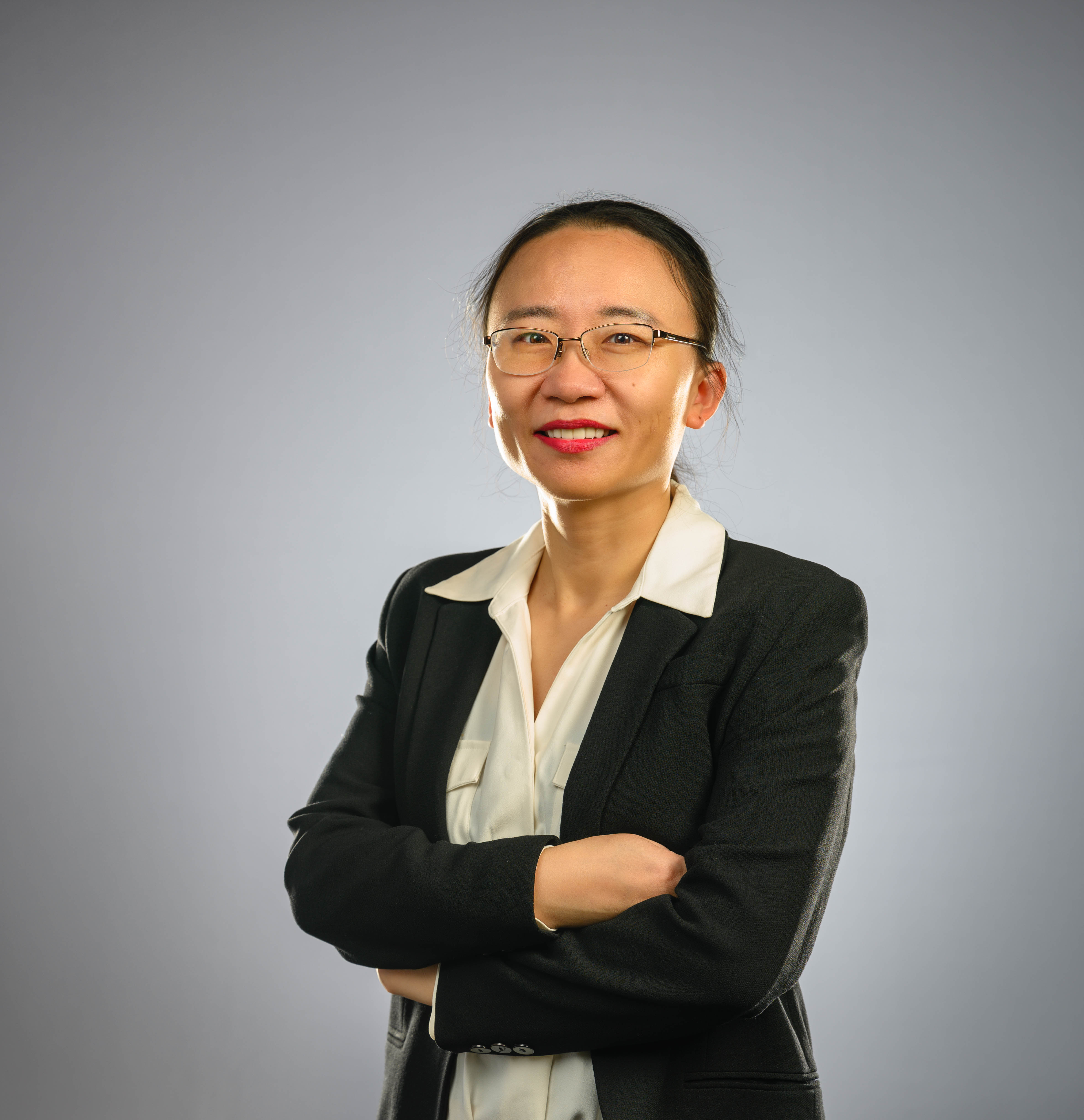 """Jennifer Zhang, a UTA professor in the College of Business' Department of Information Systems and Operations Management"""" _languageinserted=""""true"""
