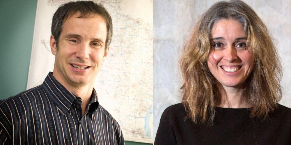 "Steve Mattingly, professor of civil engineering, and Anne Nordberg, associate professor of social work"" _languageinserted=""true"