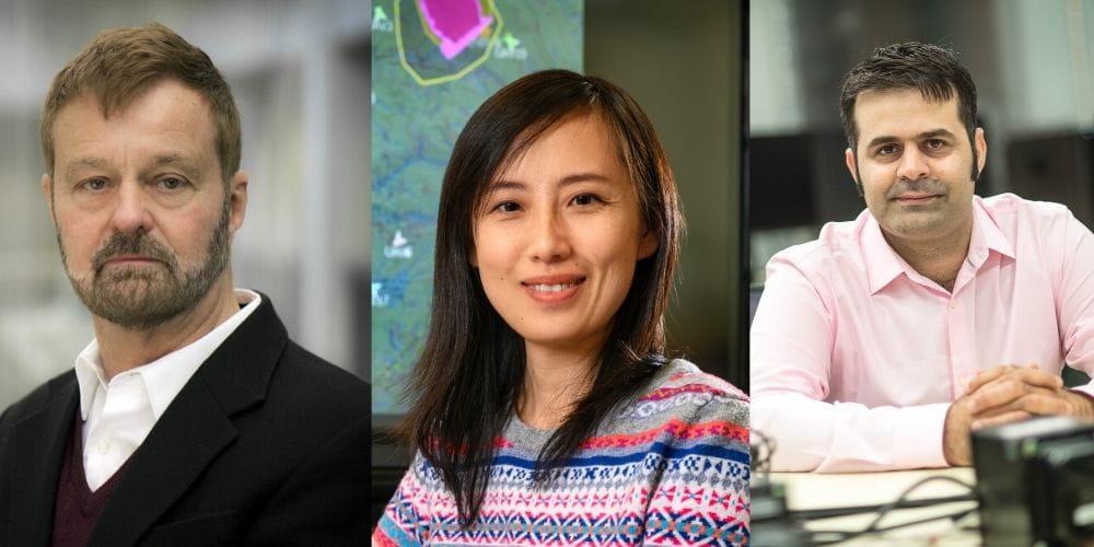 """Professor Frank Lewis and Associate Professors Yan Wan and Ali Davoudi"""" _languageinserted=""""true"""