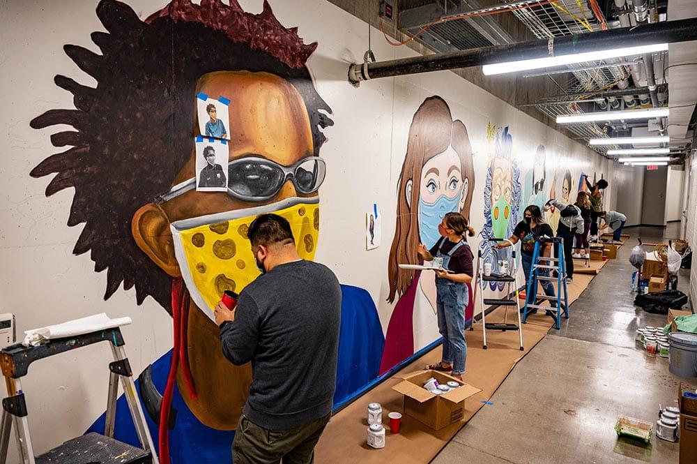 SEIR mural 1