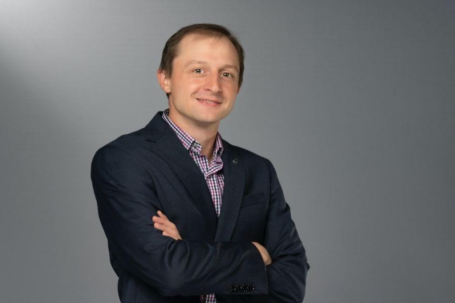 Evan Mistur, a UT Arlington assistant professor in the College of Architecture, Planning and Public Affairs