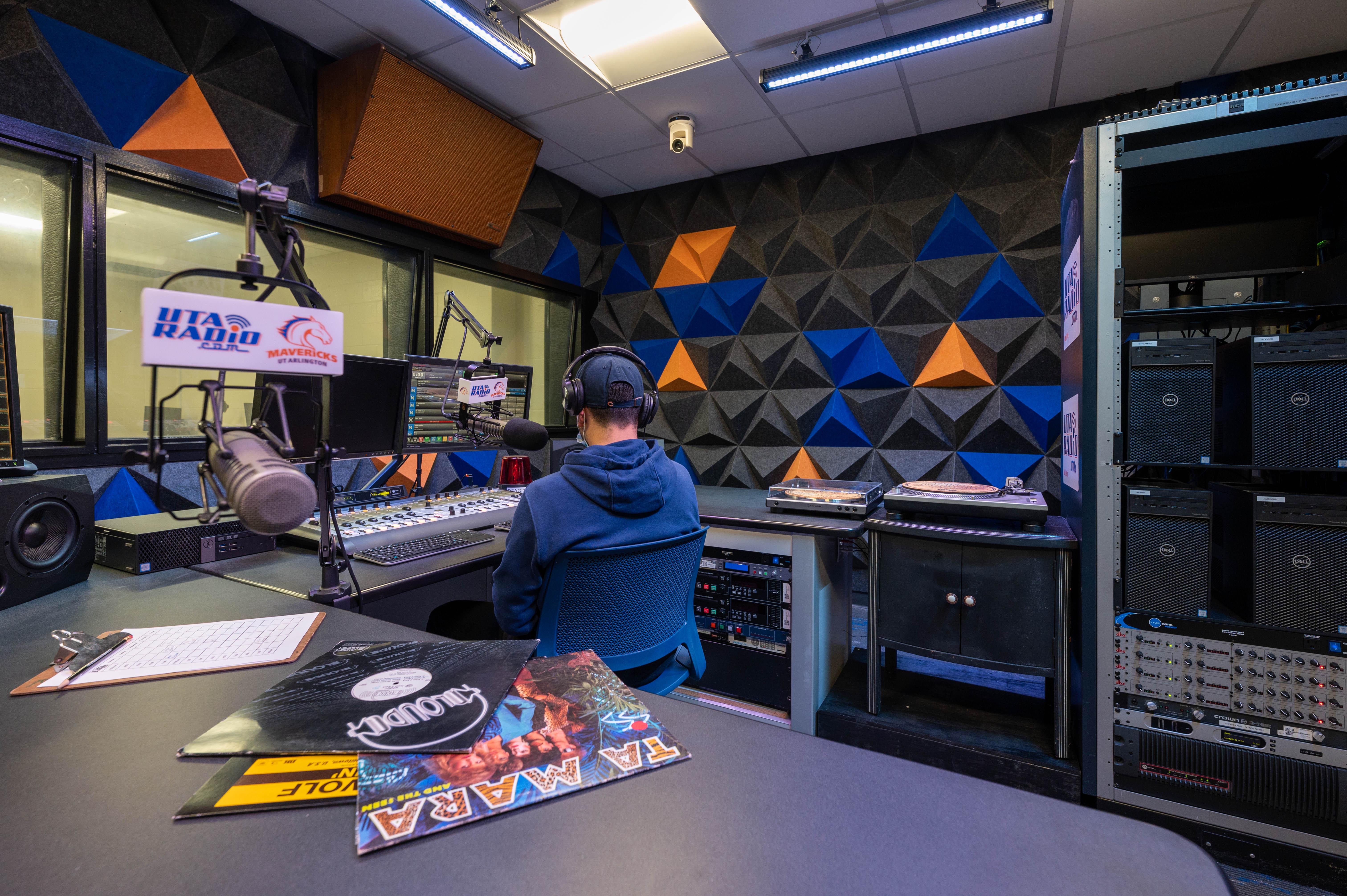 """UTA Radio studio remodel spring 2021"""" _languageinserted=""""true"""