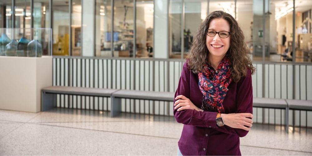 Sherri McFarland, professor of chemistry