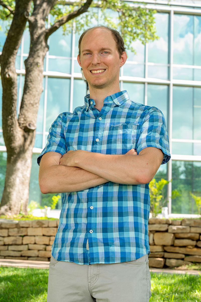 Luke Frishkoff, assistant professor of biology