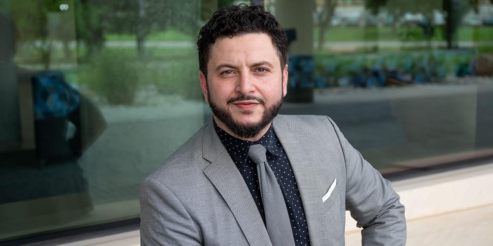 Ziyad Ben Taleb, assistant professor of kinesiology