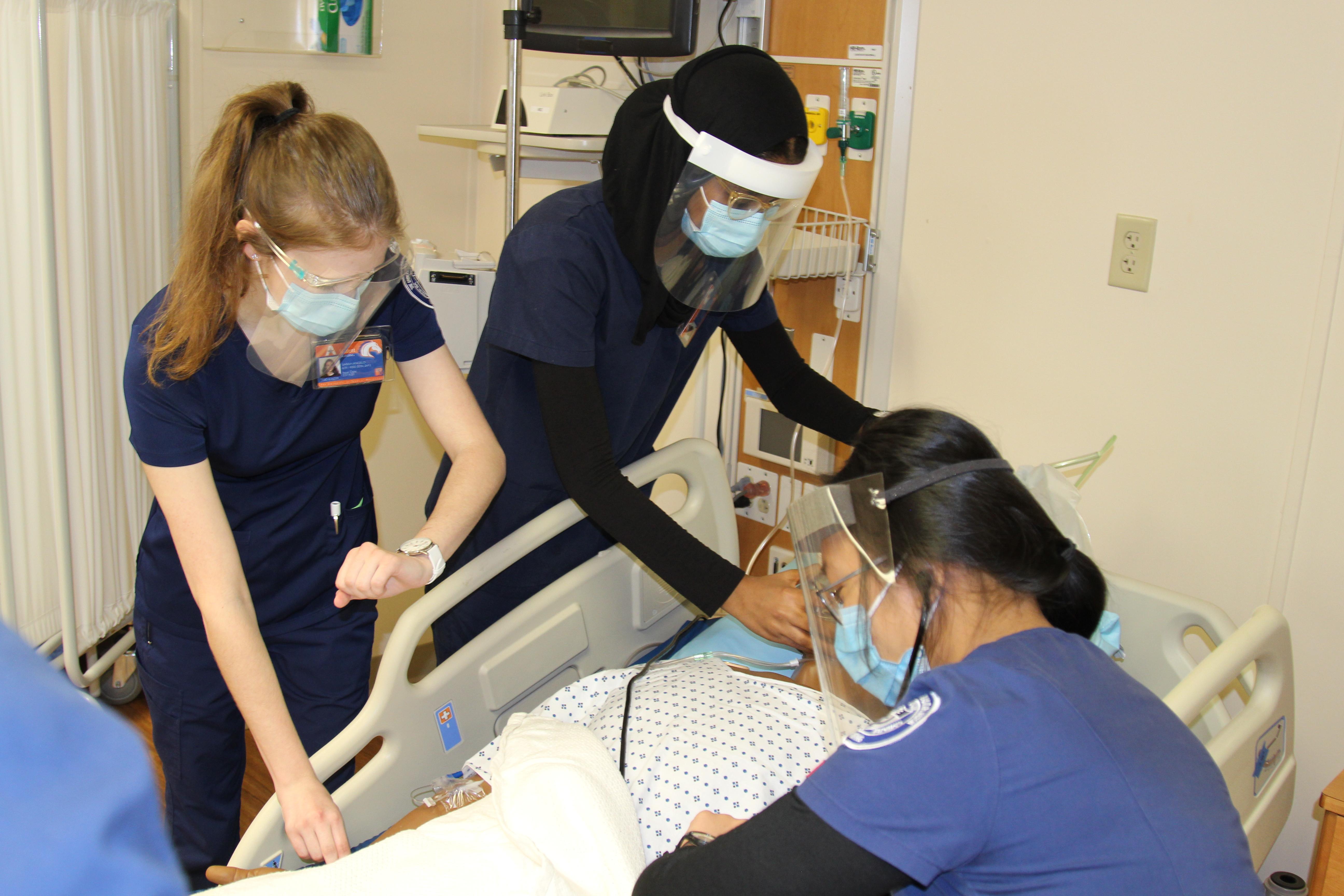 CONHI Students Smart Hospital