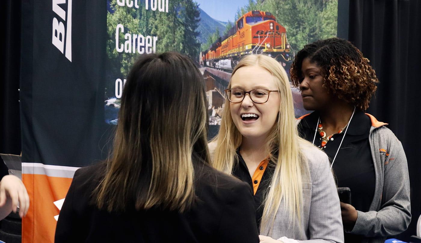 Career Fair Booth