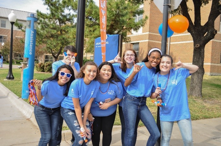 Freshmen Leaders on Campus