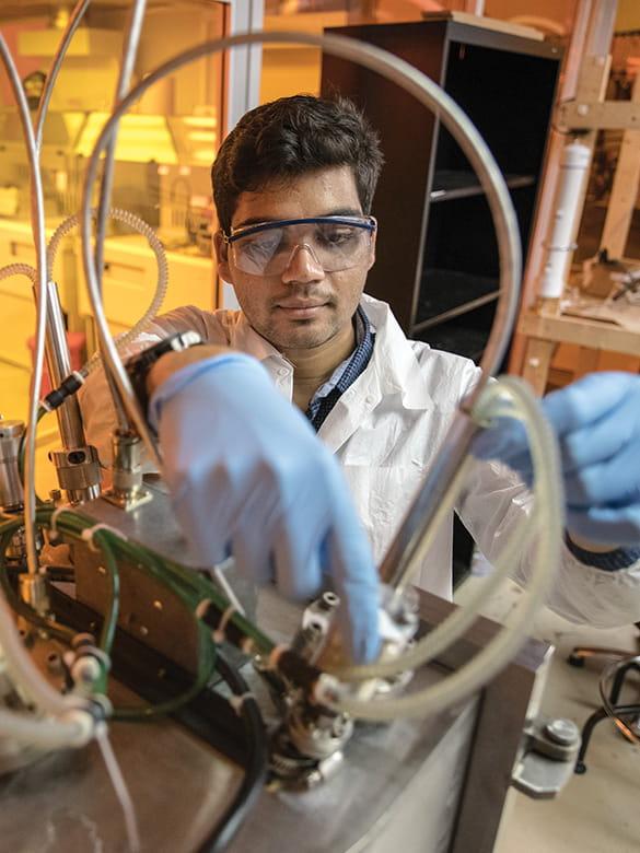 Graduate research student in UTARI lab