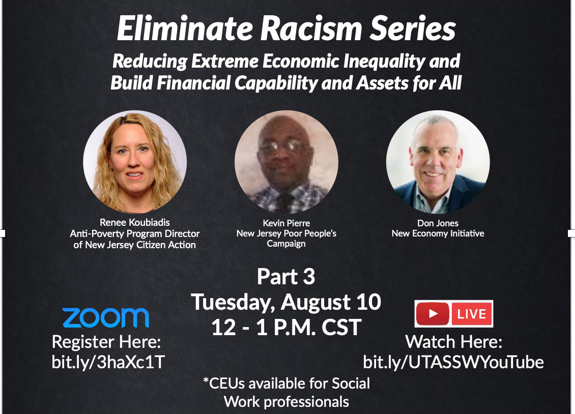 Grand Challenges for Social Work:  Eliminate Racism Series Pt.3