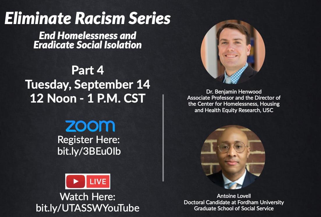 Grand Challenges for Social Work:  Eliminate Racism Series Pt. 4