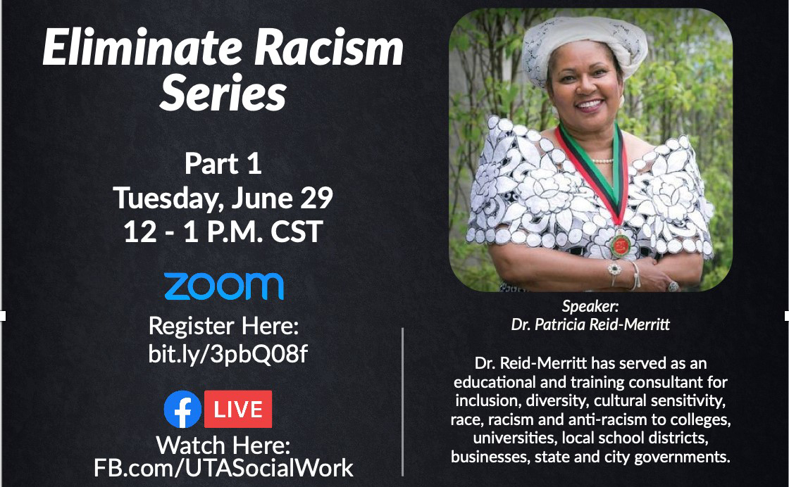 Grand Challenges for Social Work:  Eliminate Racism Series Pt. 1