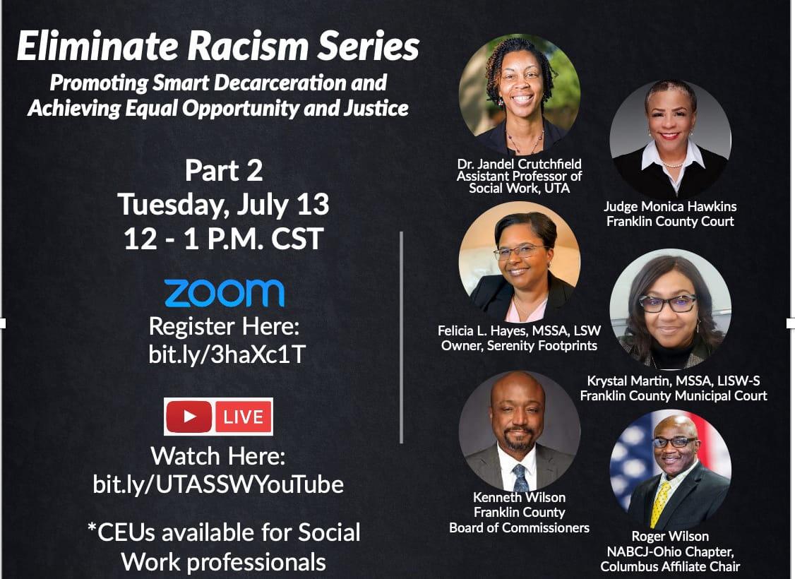 Grand Challenges for Social Work:  Eliminate Racism Series Pt.2