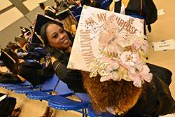Summer Commencement Hat Purpose Photo by: Randy Gentry