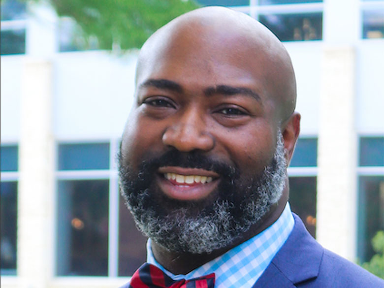Jonathan Johnson, the Assistant Vice President for Health and Wellness at The University of Texas at Arlington