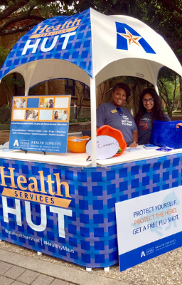 Health services booth
