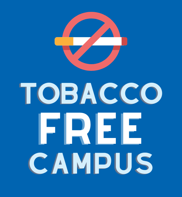 graphics of tobacco free campus