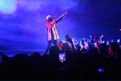 BASH 2018 with Joyner Lucas and adoring fans