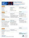 Bachelor of Arts in Education EC-6 ESL Teacher Certification
