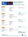 Bachelor of Arts in Communication (Communication Technology)