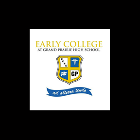 Grand Prairie I S D Early College Logo