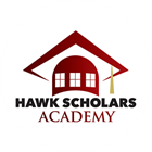 This icon shows the logo for the Red Oak Independent School District Hawk Scholars Academy.