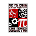 This icon shows the logo for the Arlington Independent School District Martin High School STEM Academy.